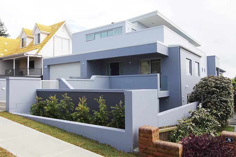 NEW LUXURY HOUSE BUILDINGS IN SOUTH COOGEE EASTERN SUBURBS OF SYDNEY ULTRA MODERN THEMES