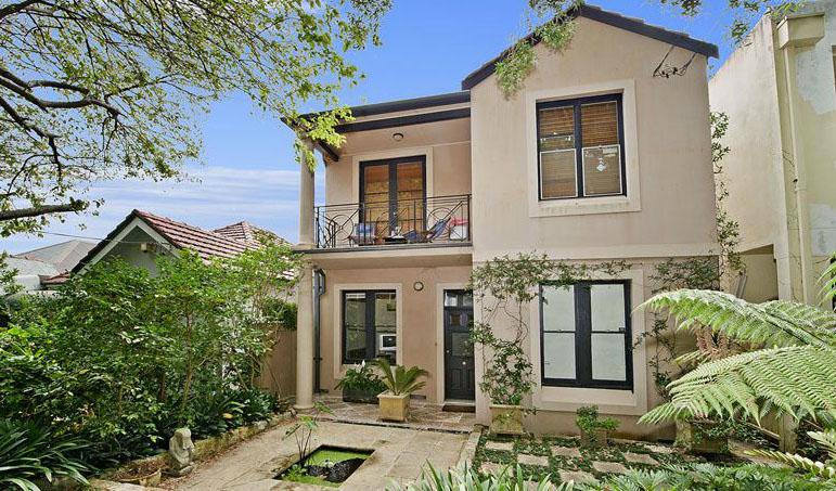 Architect designed duplex house semi terrace townhouse for Duplex home designs sydney